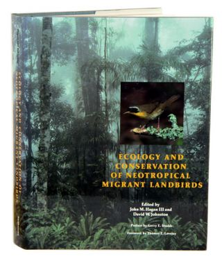 Ecology and conservation of neotropical migrant landbirds. John M. Hagan, David W. Johnston