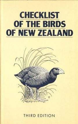 Checklist of the birds of New Zealand, and the Ross Dependency, Antarctica. P. R. Milliner