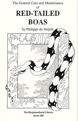 The general care and maintenance of Red-tailed Boas. Philippe de Vosjoli
