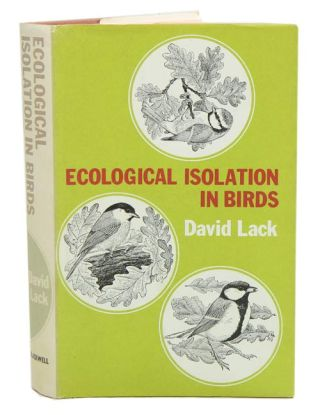 Ecological isolation in birds. David Lack.