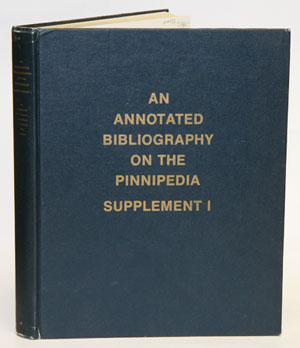 An annotated bibliography on the Pinnipedia, Supplement one. K. Ronald