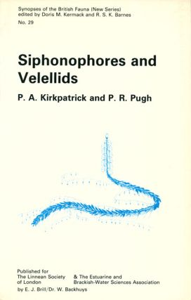 Siphonophores and Velellids: keys and notes for the identification of the species