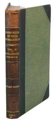 The game-birds of India, Burma and Ceylon, volume two: Snipe, bustards and sand-grouse.