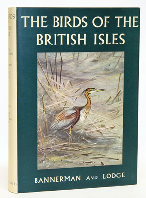 The birds of the British Isles, volume six. David A. Bannerman.