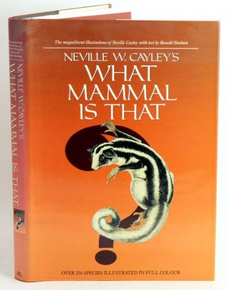 Neville W. Cayley's What Mammal is That?