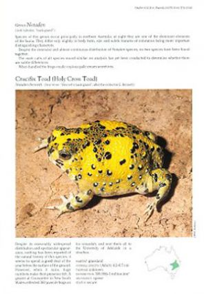 Encyclopedia of Australian animals: frogs.