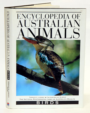 Encyclopedia of Australian animals: birds. Terrence R. Lindsey