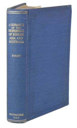 A catalogue of the Hesperiidae from Europe, Asia and Australia in the British Museum (Natural...
