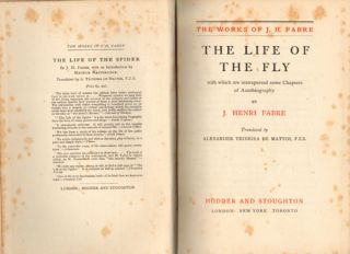 The life of the fly: with which are interspersed some chapters of autobiography.