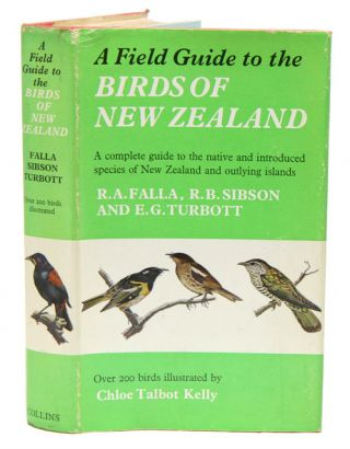 A field guide to the birds of New Zealand and outlying islands. R. A. Falla.
