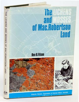 The lichens and mosses of MacRobertson Land