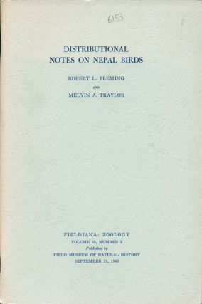 Distributional notes on Nepal birds