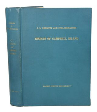 Insects of Campbell Island. J. Linsley Gressitt