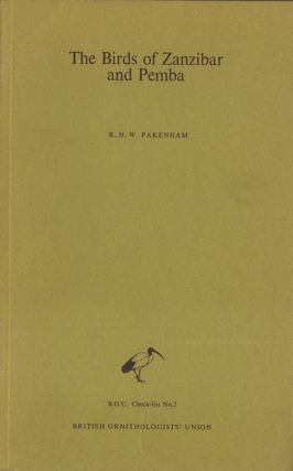 The birds of Zanzibar and Pemba: an annotated checklist. R. H. W. Pakenham