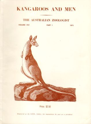 Kangaroos and men: a symposium of the Royal Zoological Society of New South Wales and held at the...