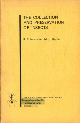The collection and preservation of insects. K. R. Norris.