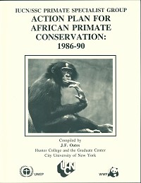 Action Plan for African primate conservation: 1986-90. J. F. Oates