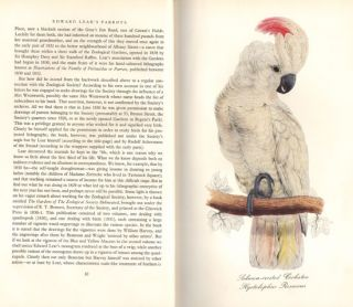 Edward Lear's parrots: with twelve reproductions of coloured lithographs from Lear's Psittacidae