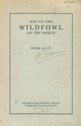 Key to the wildfowl of the world. Peter Scott