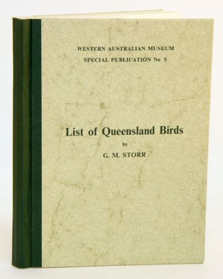 List of Queensland birds. G. M. Storr
