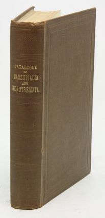 Catalogue of the Marsupialia and Monotremata in the collection of the British Museum (Natural...