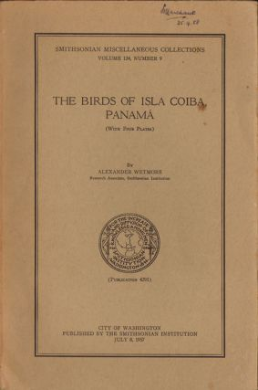 The birds of Isla Coiba, Panama. Alexander Wetmore.
