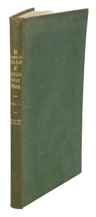An elementary text-book of Australian forest botany, volume one [all published]. C. T. White