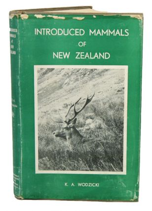 Introduced mammals of New Zealand: an ecological and economic survey. K. A. Wodzicki.