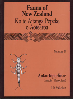 Fauna of New Zealand Number 27: Antarctoperlinae (Insecta: Plecoptera