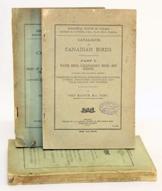 Catalogue of Canadian birds. John Macoun