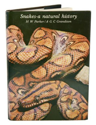 Snakes: a natural history. H. W. Parker