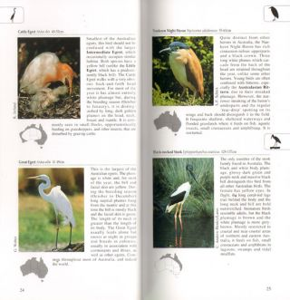 A photographic guide to birds of Australia.