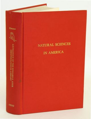 Catalogue of the Edward E. Ayer ornithological library, two parts [bound in one, facsimile]