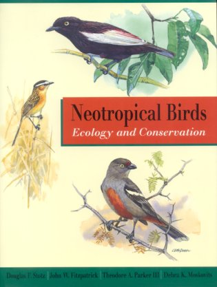 Neotropical birds: ecology and conservation. Douglas F. Stotz.