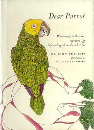 Dear parrot: pertaining to the care, nurture and befriending of man's oldest pet